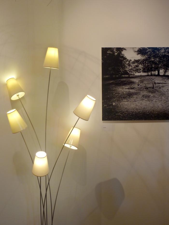 lampe luciole 6 tiges inox